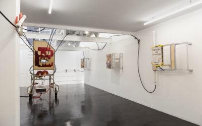Waldengallery presentó la exposición Himno de las máquinas, del artista plástico argentino Rodolfo Marqués