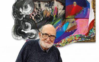 Tres galerías unidas rinden homenaje al artista Luis Felipe Noé