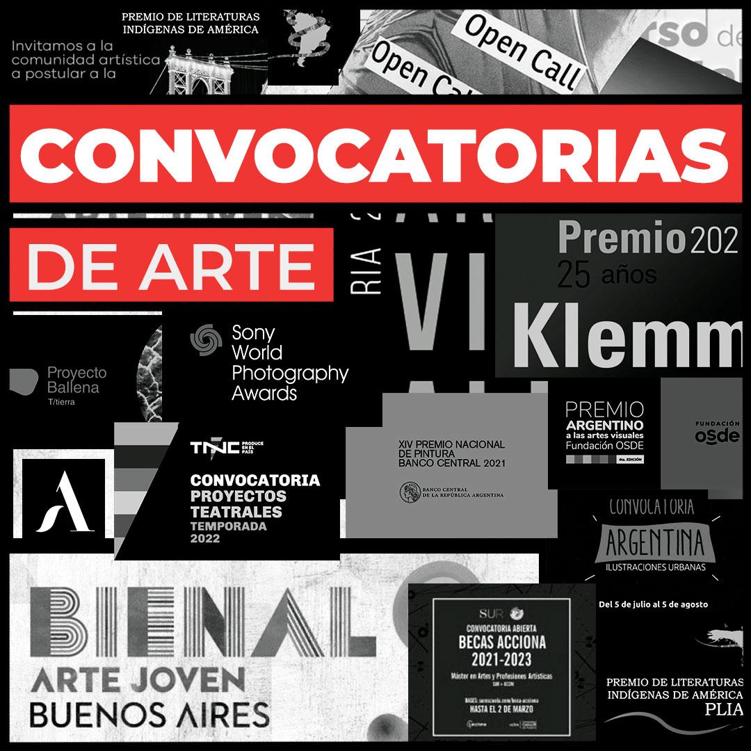 Convocatorias de arte